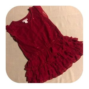 Children's Place red dress girls 18-24M